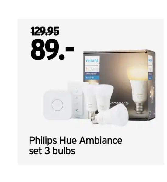 Philips Hue white ambiance starterkit