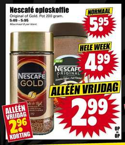 Nescafe Oploskoffie [Dirk Black Friday Deal]