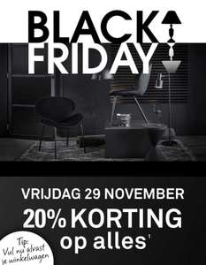 Black Friday @ Karwei: 20% op ALLES!