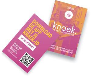 [STUDENTEN] code voor gratis Knaek twv €20!!
