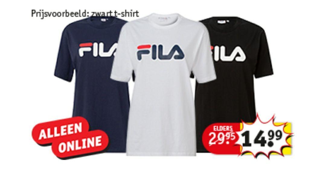 [Black Friday] Fila shirts €14,99 | Kruidvat