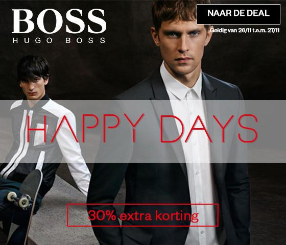 Hugo Boss -70% + met code 30% extra @ Maison Lab