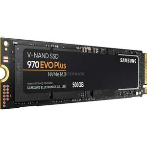 Samsung 970 EVO Plus, 500 GB SSD
