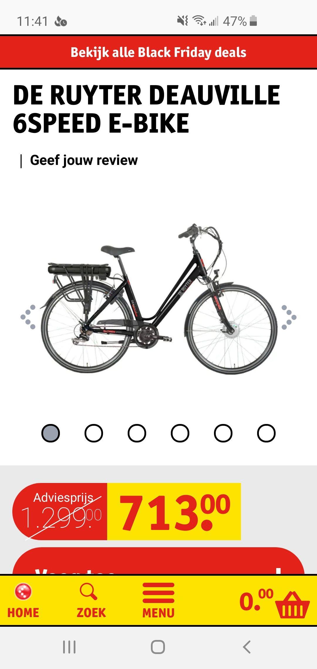De Ruyter Deauville 6speed E-bike