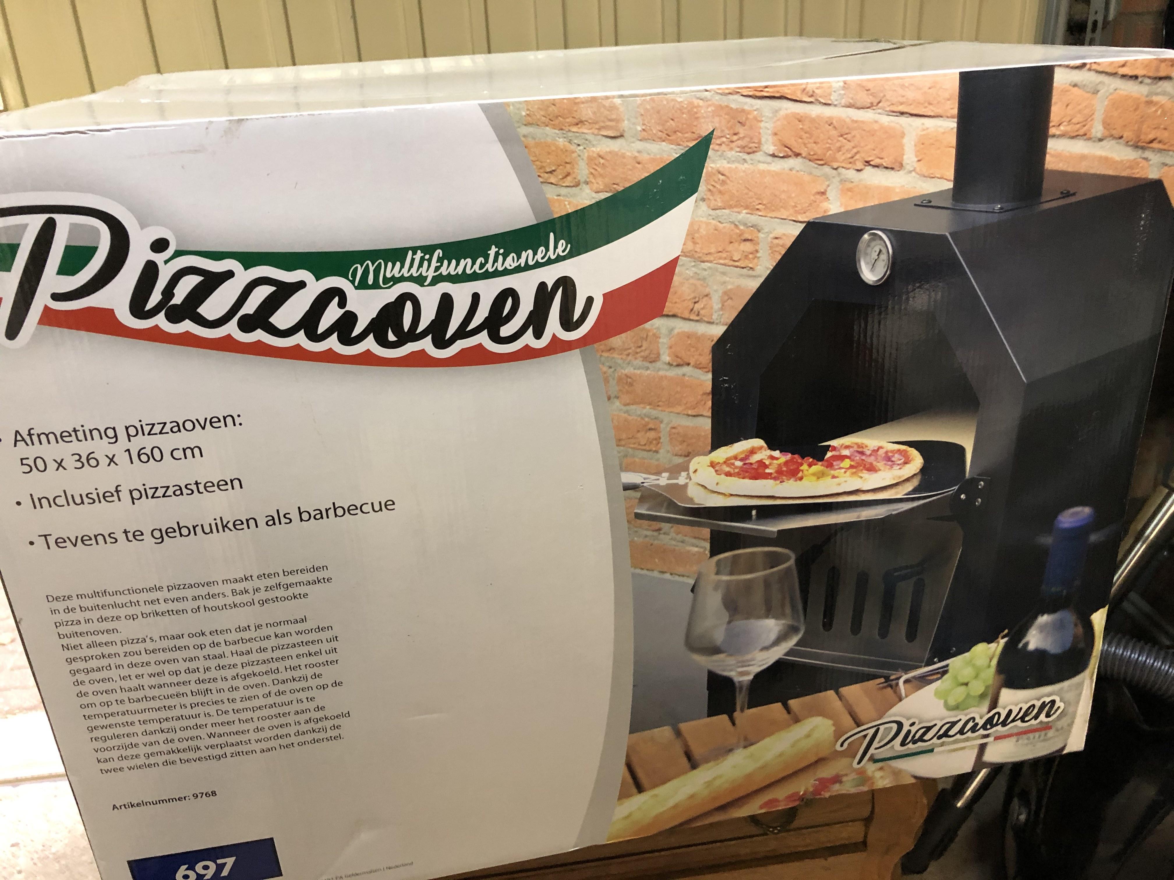 [Roermond] Pizza oven voor €25,- alleen vandaag!