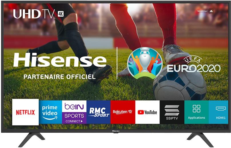 Hisense BE7000 serie 4K HDR TV's 43'' tot 65'' vanaf €239 tot €479