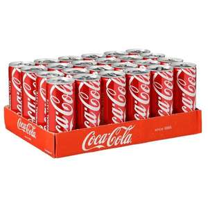 Black Friday 24 blikjes Coca-Cola/Cola Light/Fristi/Chocomel voor €10,-
