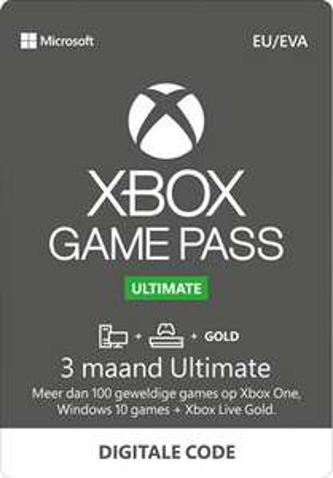 Xbox Game Pass Ultimate Online - 3 maanden
