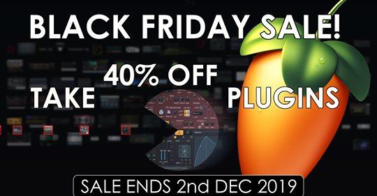 [FL Studio] 40% korting op plugins (BlackFriday)
