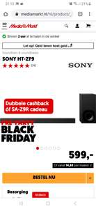 [Black Friday MediaMarkt Deal] Sony HT-ZF9 Soundbar Met Dubbele Cashback