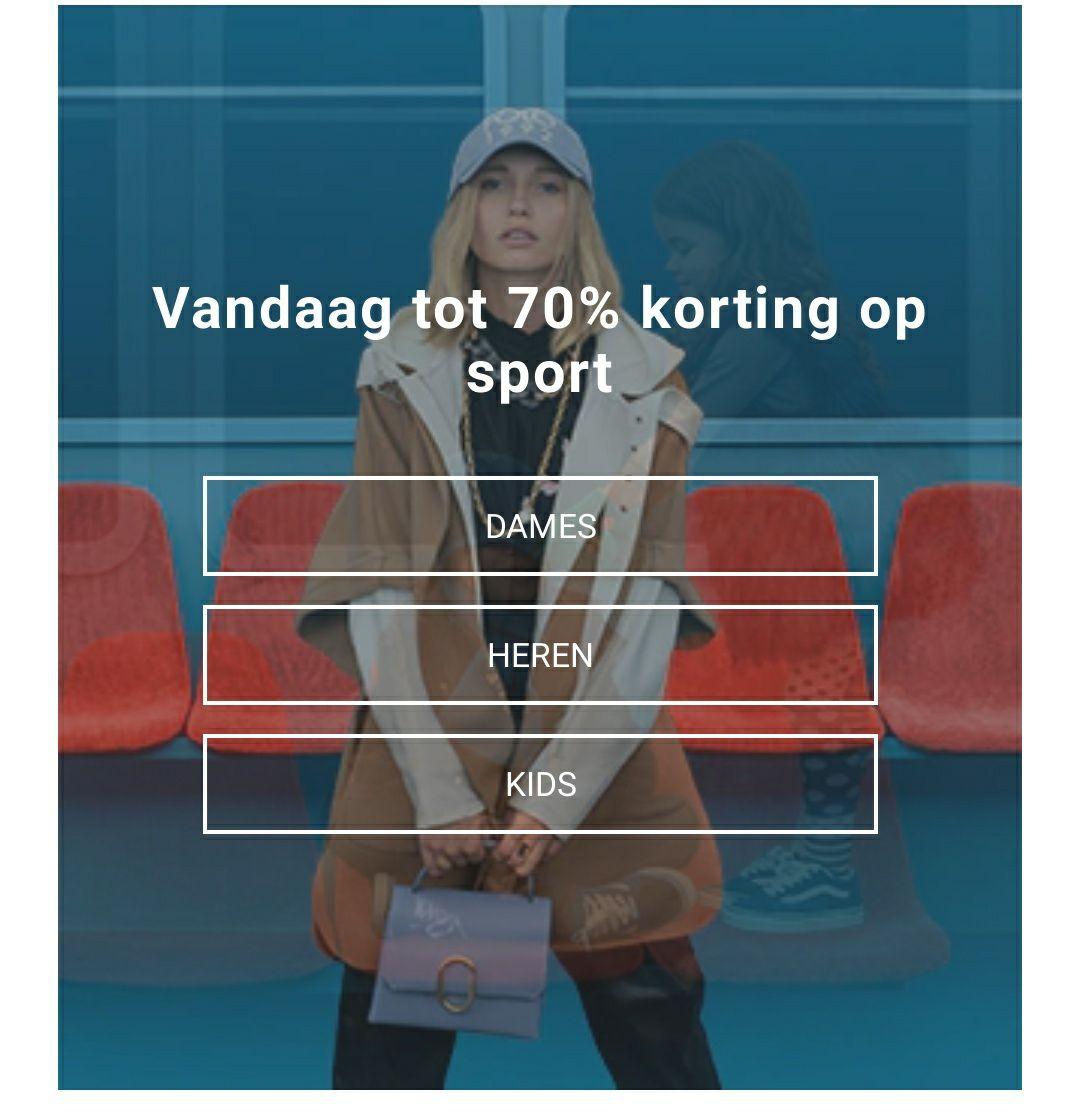 Zalando cyberdeal: tot 70% korting op sport