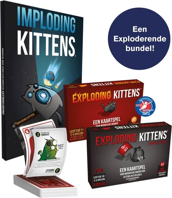 Exploding Kittens Bundel - Nederlandstalig