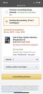 Call of Duty: modern warfare PS4