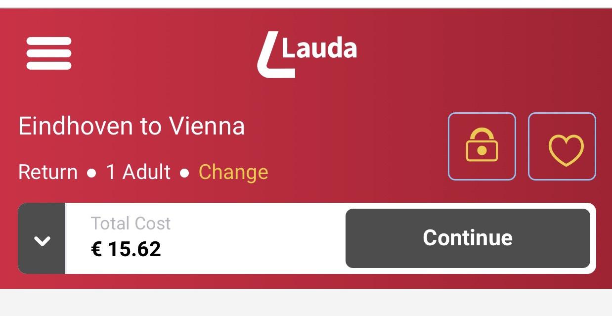 Retour 3 dagen Eindhoven - wenen nog geen €16