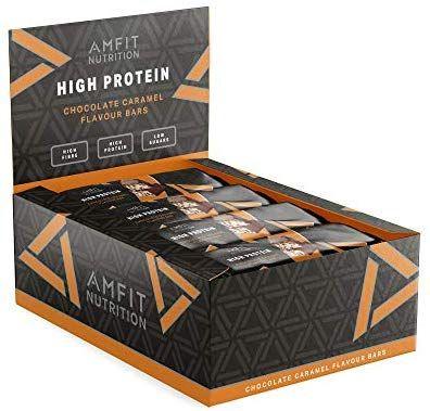 Amazon Proteine Repen (Chocolade met Caramel), 12x60gram, 32% eiwit