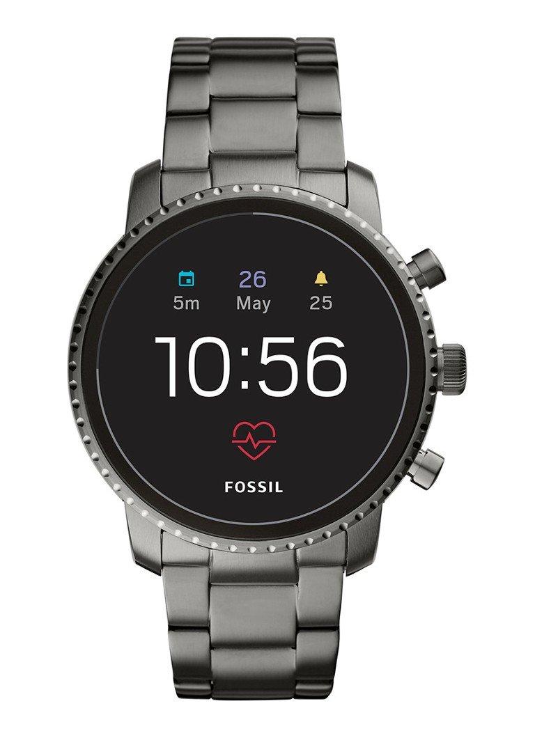 Fossil Q Explorist smartwatch FTW4012 - Bijenkorf Black Friday Deal