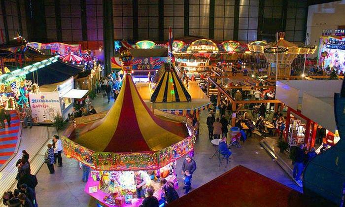 Kerstplaza tickets overdekte kermis + kerstmarkt Martiniplaza Groningen @ groupon