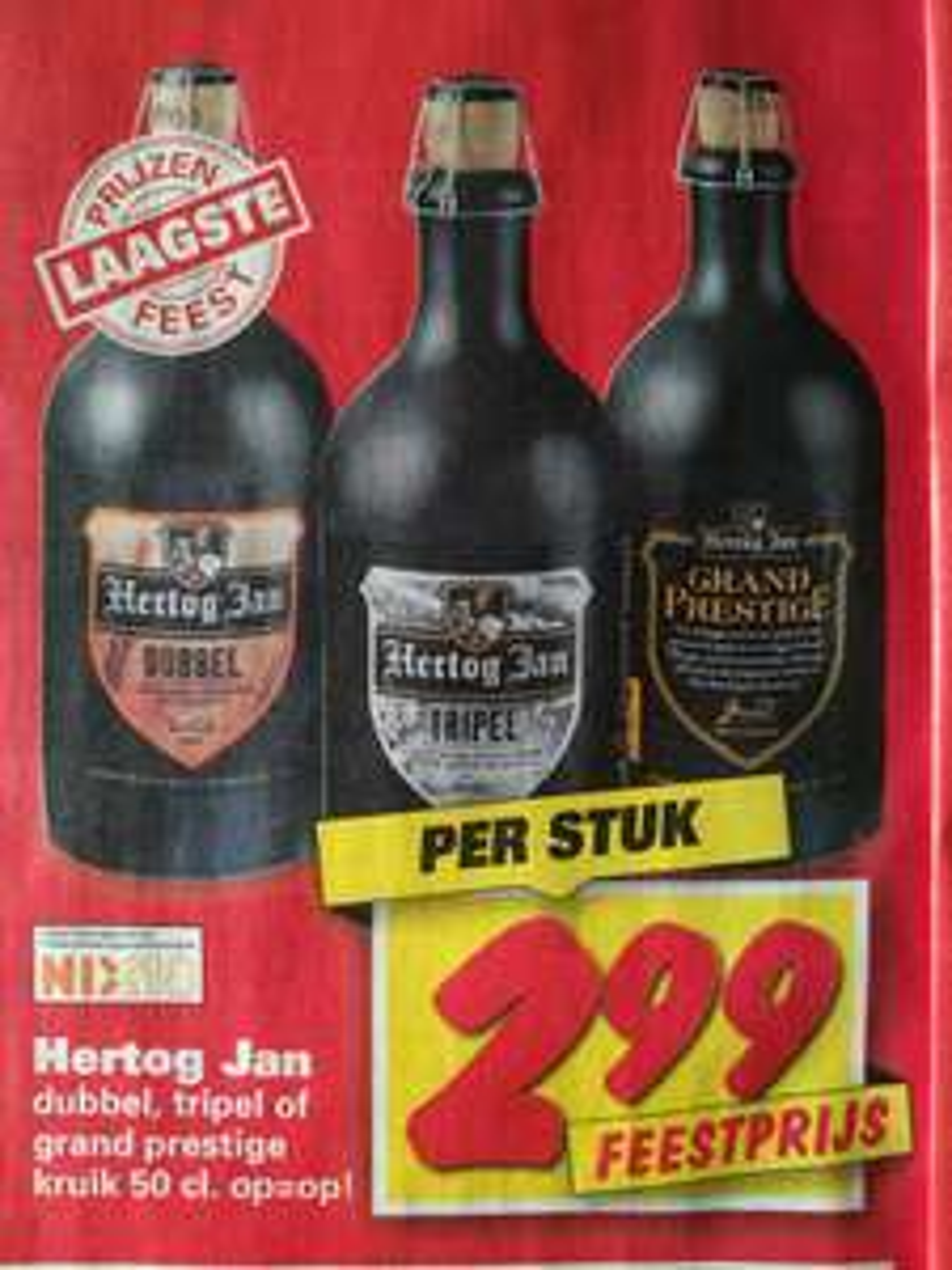 (@Nettorama) Hertog Jan 50cl Kruik (Dubbel, Tripel of Grand Prestige)
