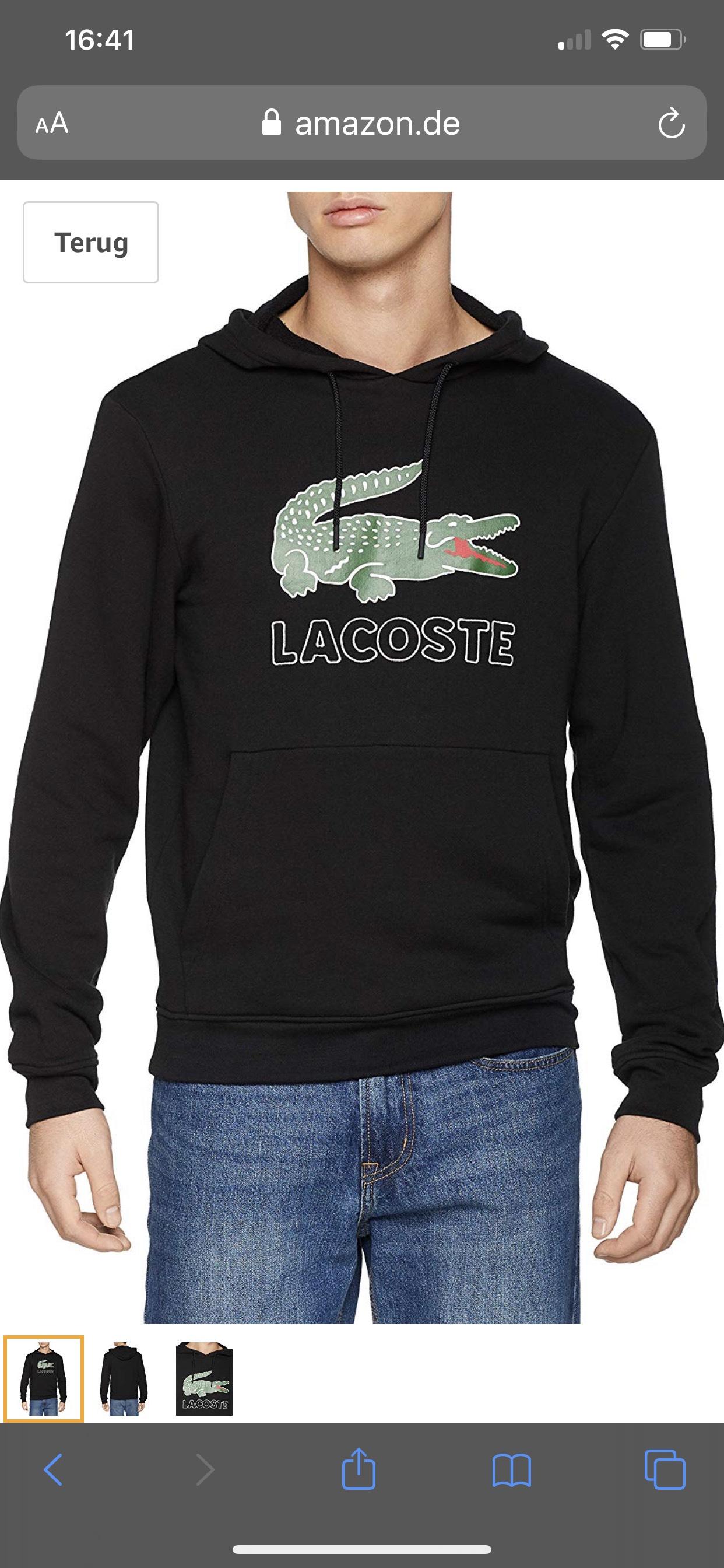 Lacoste Hoodie 41,99€