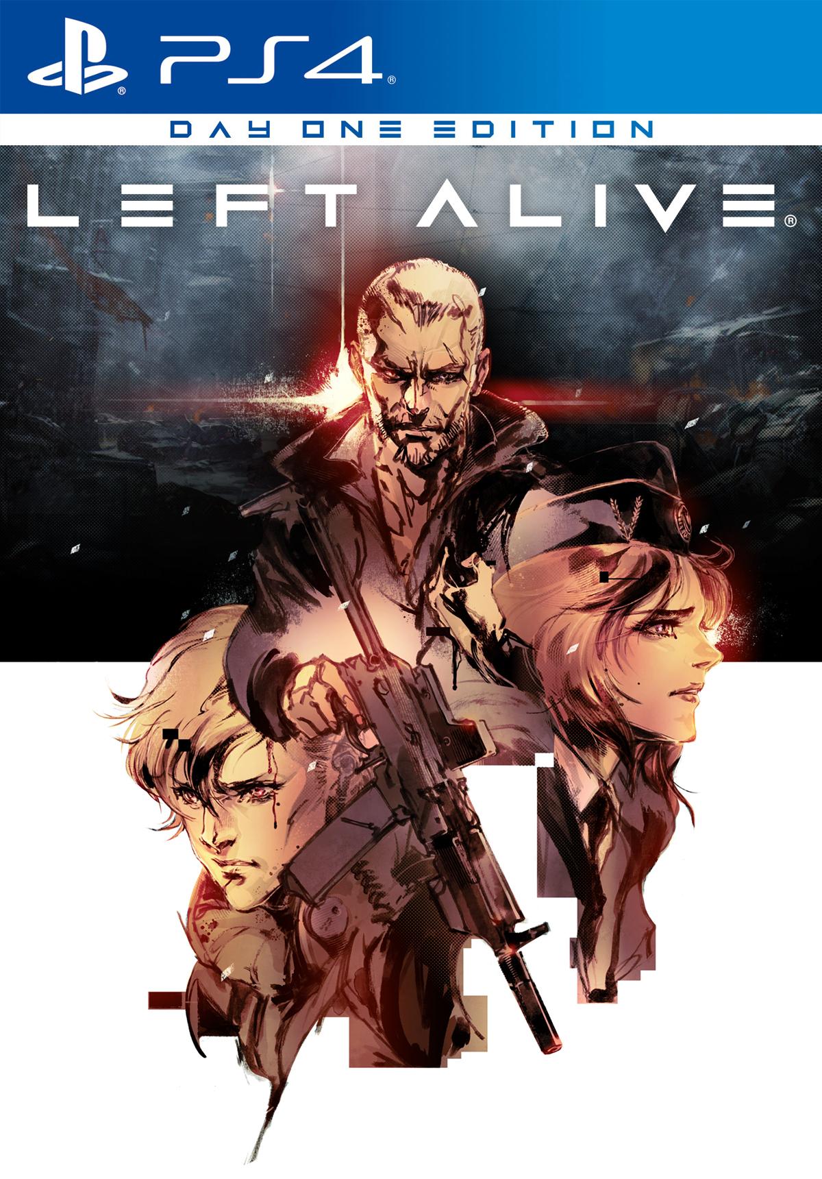 Left Alive Day One Edition (PS4/PC) + Clear File bonus @ SquareEnix Store