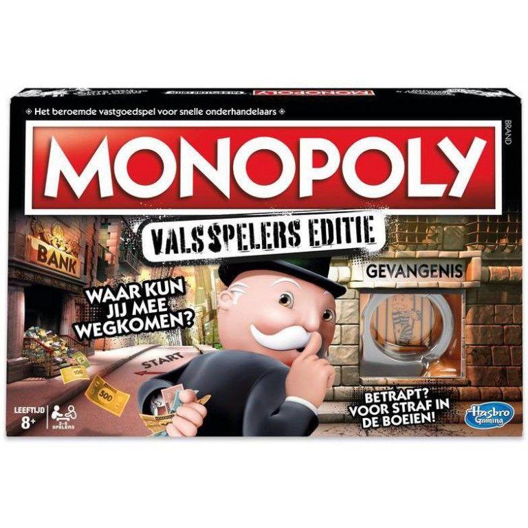 Monopoly valsspelers editie + gratis verzending
