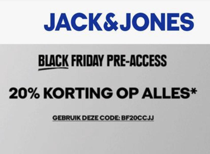 20% korting op de gehele Jack&Jones collectie
