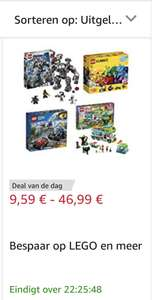 LEGO Amazon Deal van de dag
