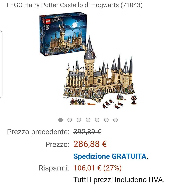 Lego kasteel 71043 Zweinstein *laagste prijs ooit