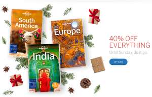 Lonely Planet 40% korting op alles!