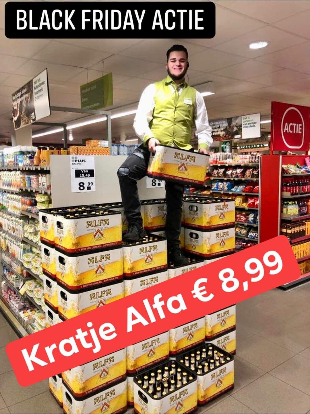 [Lokaal St.Odilienberg+Posterholt] Krat Alfa €8,99 (BlackFridayActie)