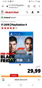 Media Markt Black Friday PS4 Deal: F1 2019 | PlayStation 4
