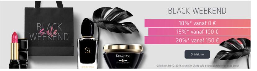 Black Friday bij parfumdreams tot 20% korting!
