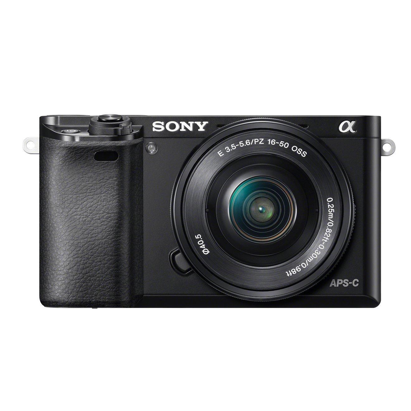 Sony Alpha 6000 + E PZ 16-50 mm voor €558,23 @ Amazon.de
