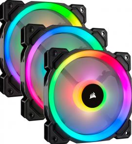 Corsair LL Series LL120 RGB Ventilator (3 stuks)