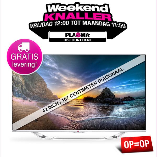 LG 42LA7408 3D Smart LED tv voor € 569,- @ Plasma-Discounter.nl