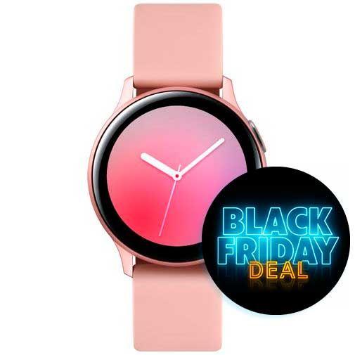 Samsung Galaxy Watch Active 2 40mm SM-R830 Rose Gold Aluminium voor €249,95 @Belsimpel