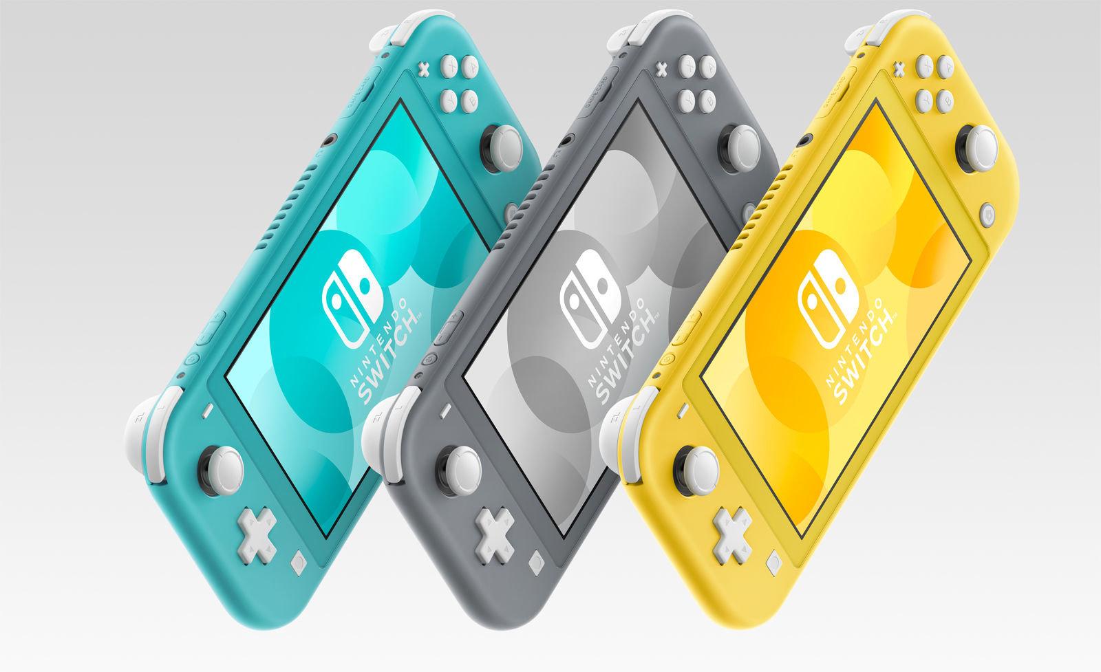 """Nintendo Switch Lite Geel / Turquoise / Grijs """"Als nieuw"""" €158,63 @ Amazon DE Warehouse"""