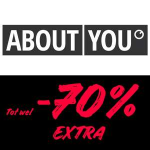 Cyber Monday: tot 70% (extra) korting @ About You