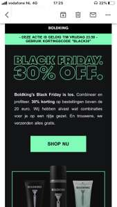 [black friday] Boldking 30%korting boven 20 euro