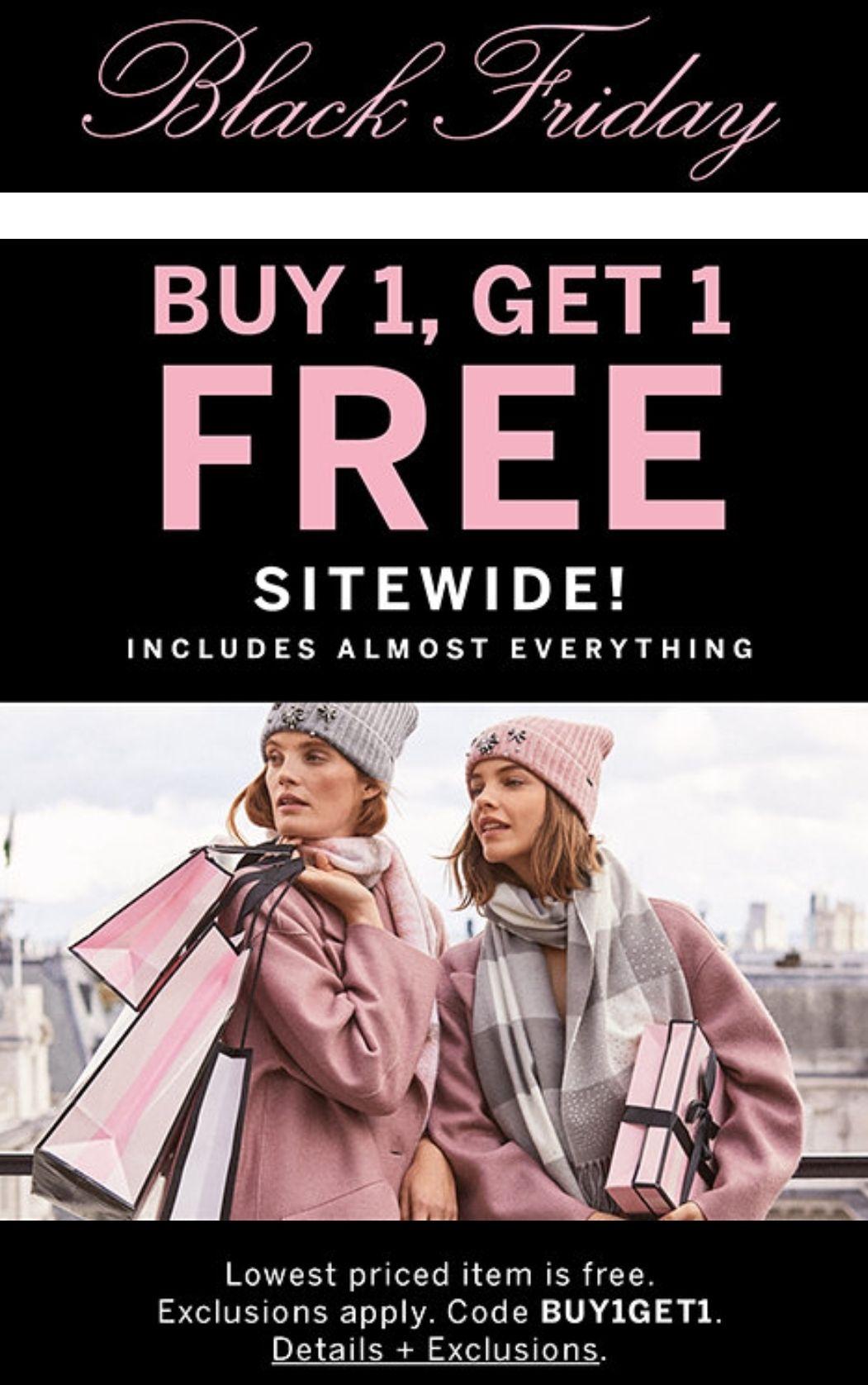 1+1 gratis op bijna alles @ Victoria Secret & Pink