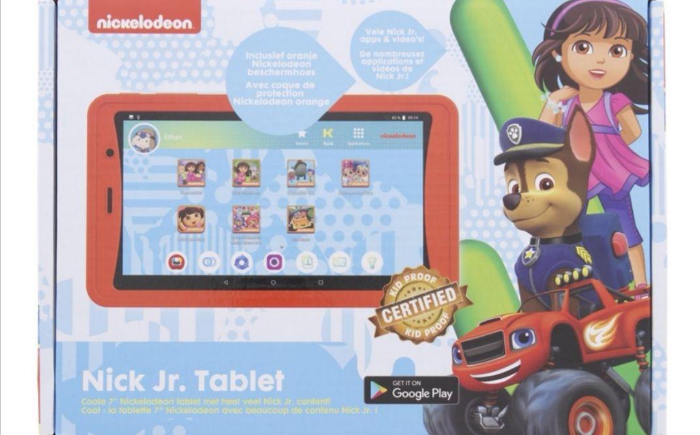 Nickelodeon Kurio tablet voor € 69,95 @ Action