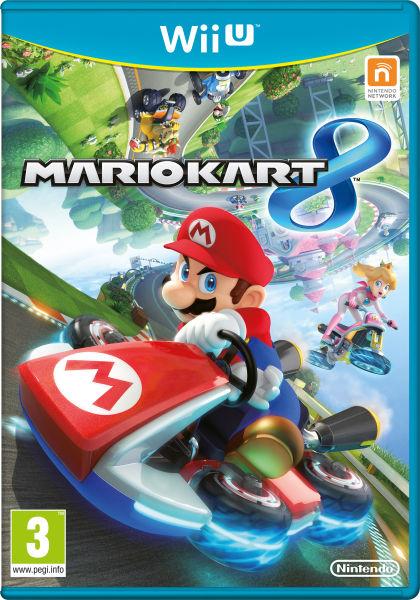 Mario Kart 8 (Wii U) voor € 35,55 @ Zavvi