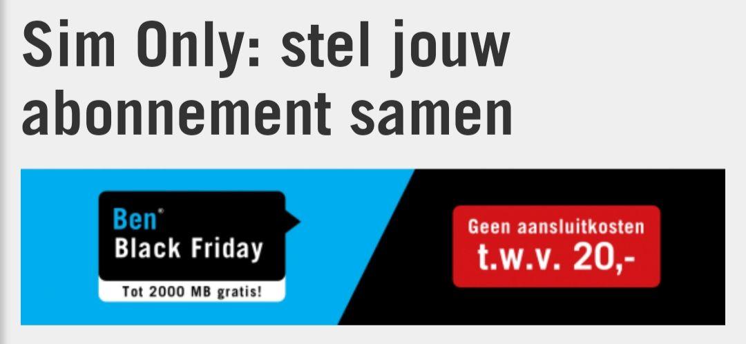 Gratis geld met Ben.nl abonnement!