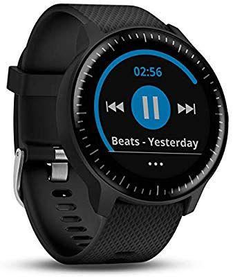 Garmin vivoactive 3 music, sport watch/horloge, alleen nog in het graniet-blauw @Amazon.de