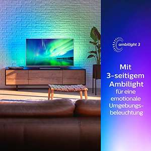 Philips 55PUS7504   55'' UHD Android TV met Ambilight