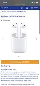 Apple AirPods 139 euro