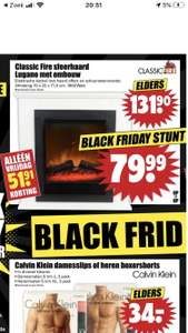 Classic Fire Sfeerhaard Lugano Met Ombouw [Dirk Black Friday Deal]