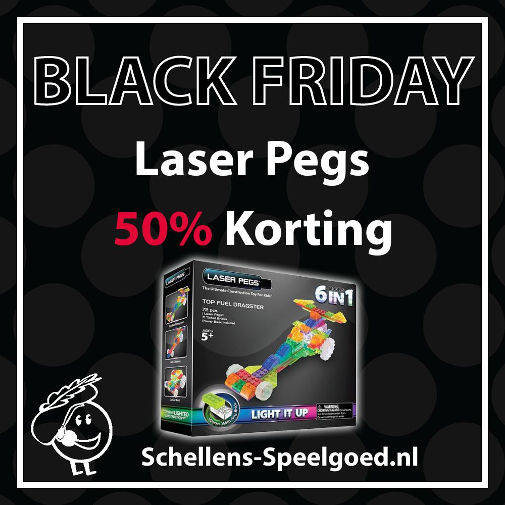 50% Korting op Laser Pegs (Lego met ledlampjes) bij Schellens Speelgoed