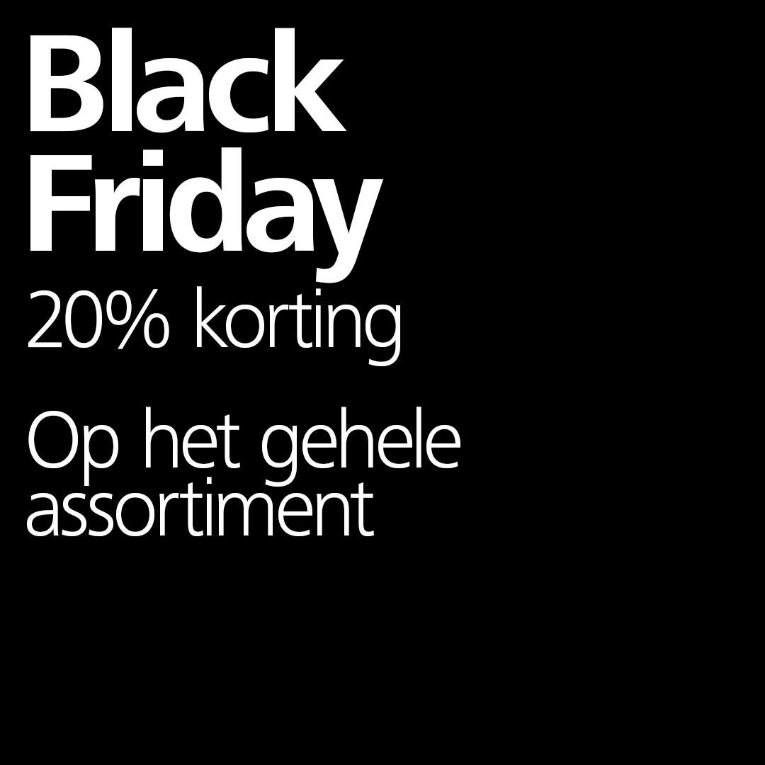 Black Friday: Flying Tiger 20% korting op ALLES