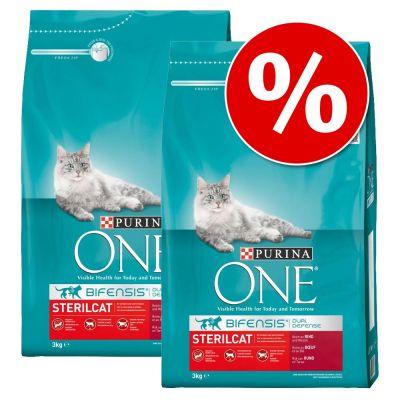 18 kg Purina One kattenbrokjes - diverse varianten